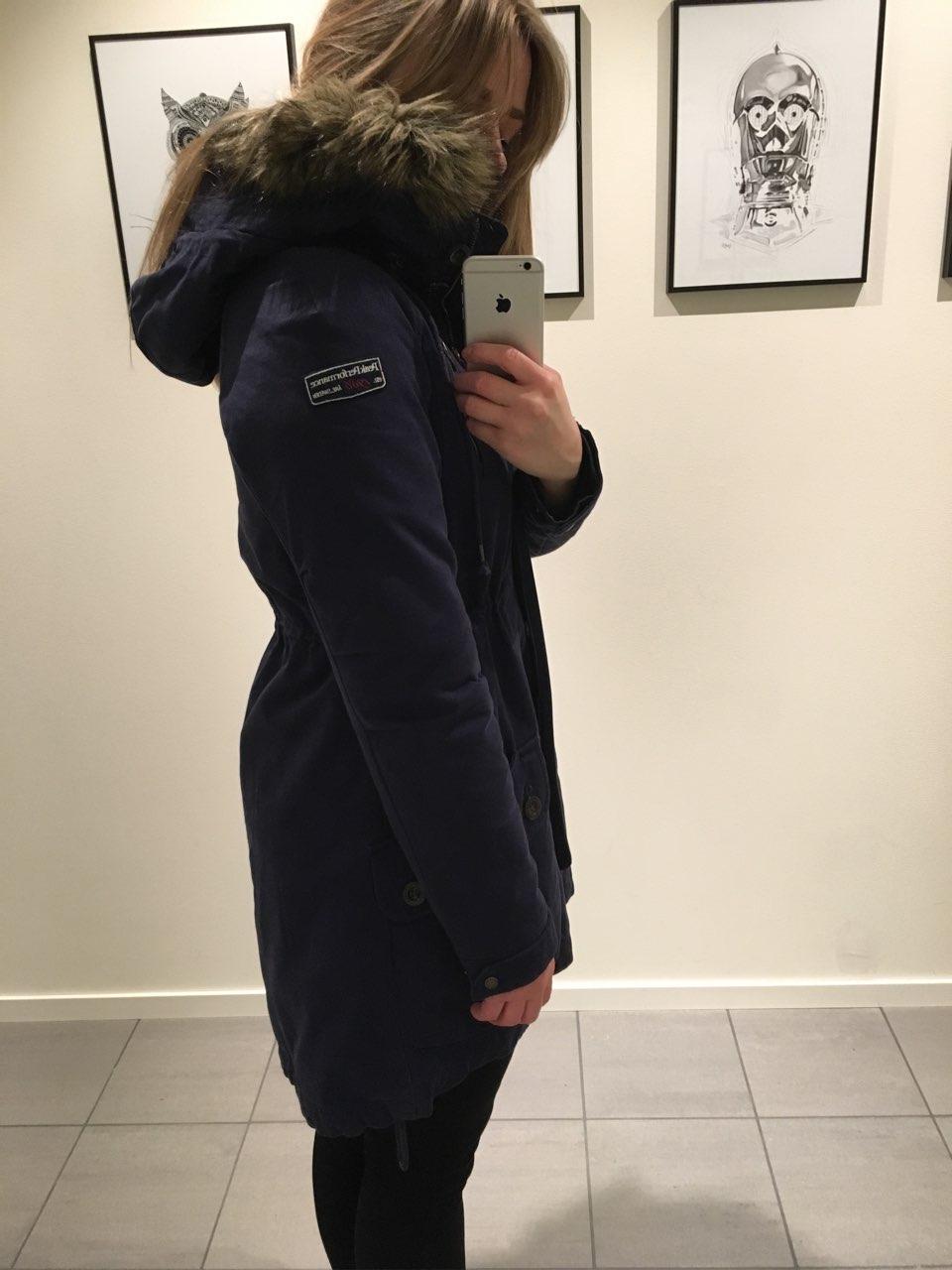 Falsk pels foret jakke • Tise